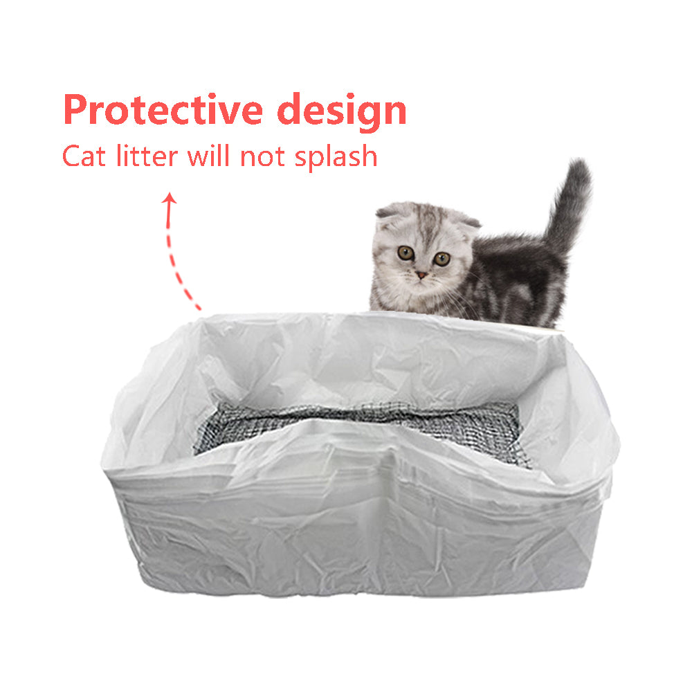 Reusable Cat Mesh Litter Box Liners (10 Pack)