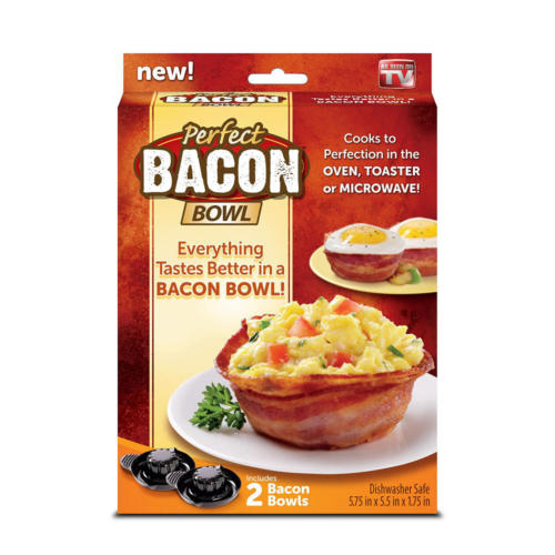 Perfect Bacon Bowl (Set of 2)