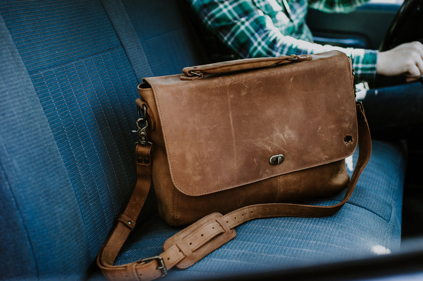 Buffalo Jackson Rugged Leather Goods Clothes For Men Tas Kamera Wotancraft Messenger Duffles Briefcases More