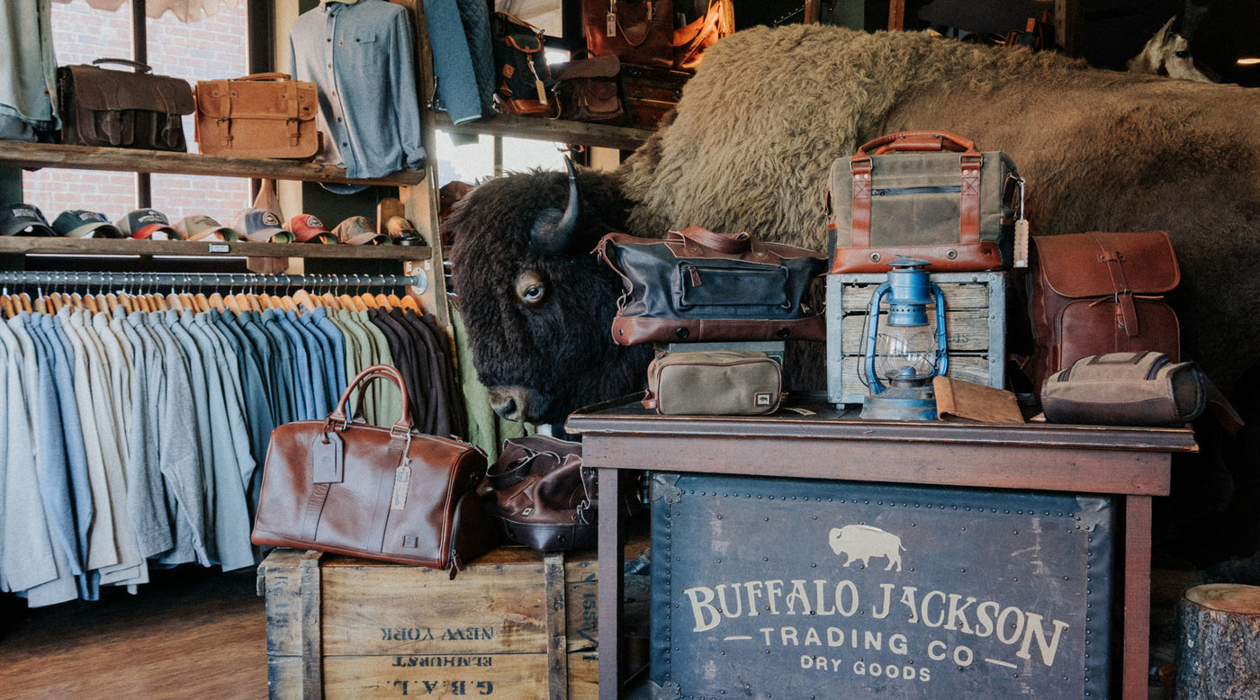 Leather Goods & Apparel for Men & Women | Buffalo Jackson