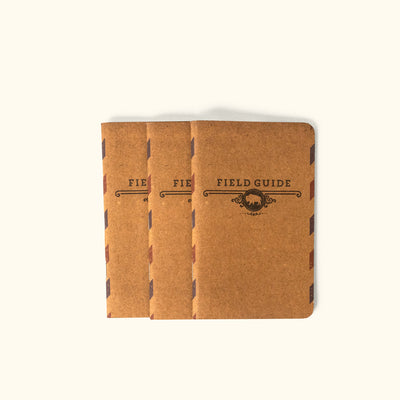 Field Guide Booklet 3-Pack | Buffalo Jackson Trading Co.