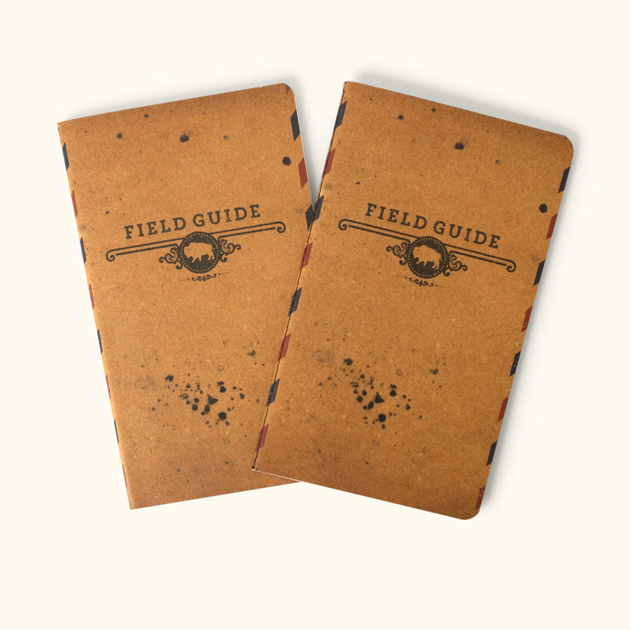 Field Journal Booklet 2-Pack | Buffalo Jackson Trading Co.