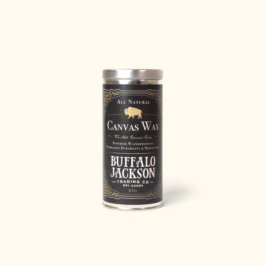 Canvas Wax - Buffalo Jackson Canvas Care