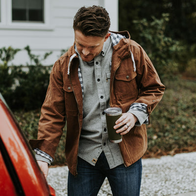 Murphy Sweater Shirt | Moonshine