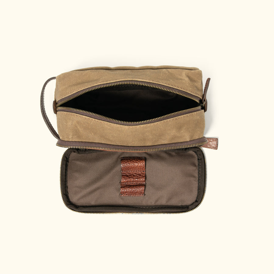 Men's Rugged Canvas Dopp Kit