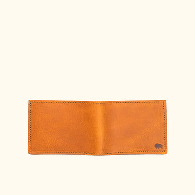 Dakota Leather Bifold Wallet | Saddle Tan