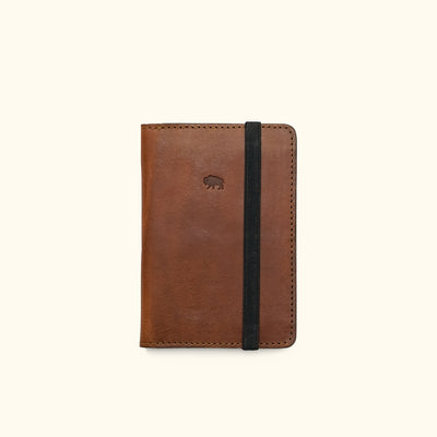 Men's Best Leather Travel Wallet | Chestnut Brown