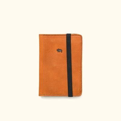 Dakota Leather Field Notes Cover & Travel Wallet | Saddle Tan