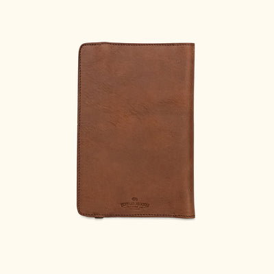 Dakota Leather Journal Cover & iPad Mini Case | Chestnut Brown