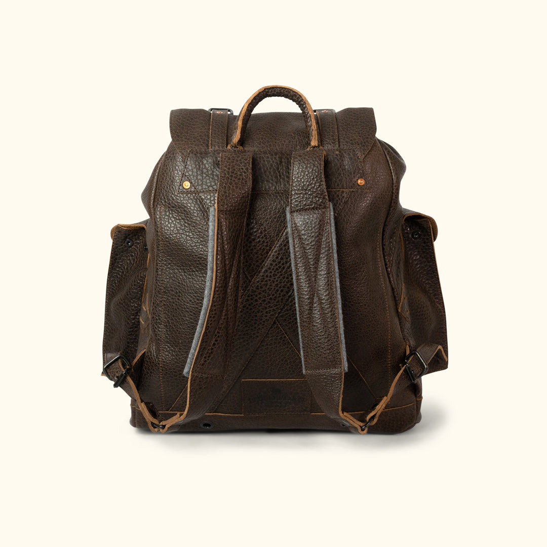 b70a4daa6288 Dakota Leather Backpack in Full Grain Leather