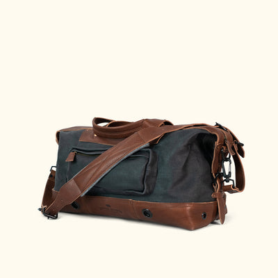Men's Classic Canvas Weekend Bag Navy turned