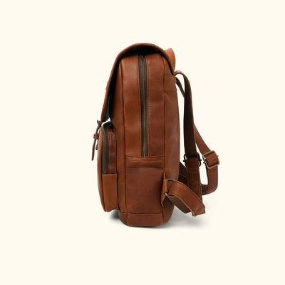 Denver Leather Backpack | Autumn Brown