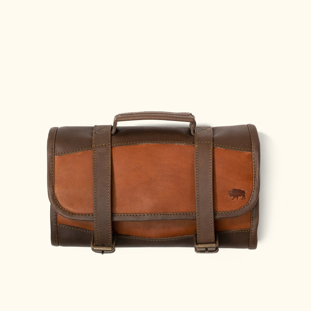 eb571cc3a1 Full Grain Leather Toiletry Bag
