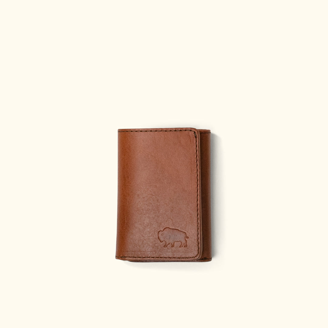 Bison Tri-Fold Wallet Kit