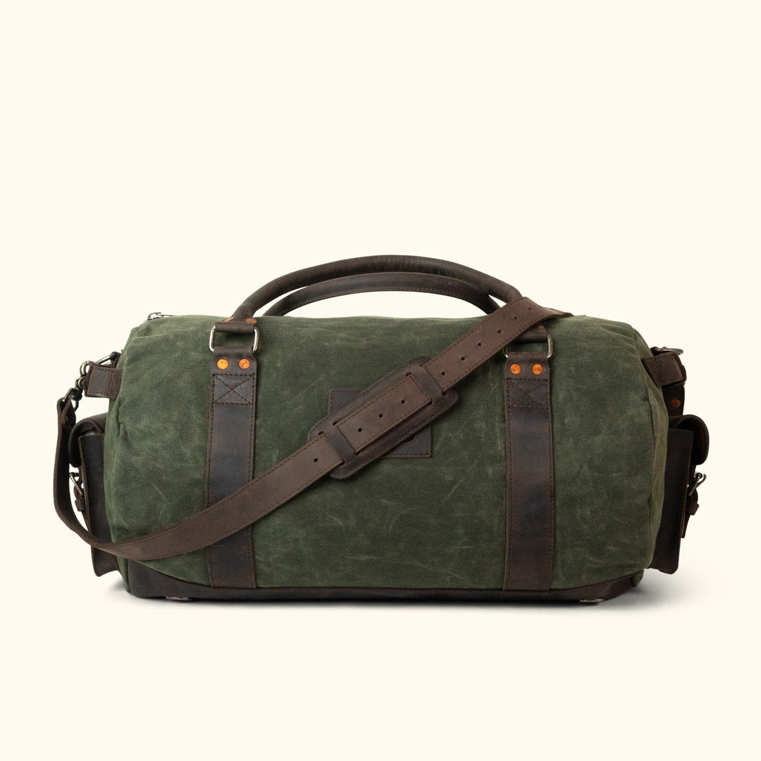 Travel Duffle Bag for Men - Canvas   Leather  0fab6bb88117e
