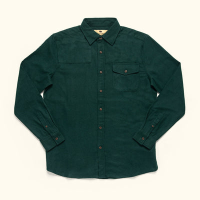 Men's Rugged Wool Button Down shirt