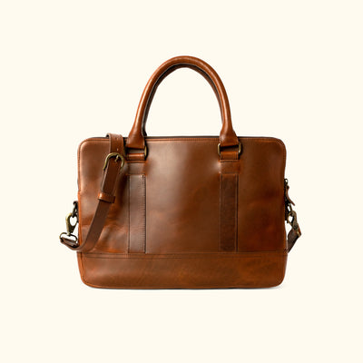 Men's Best Leather Attache Case | Elderwood back