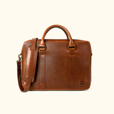 Rugged Leather Briefcase Bag | Elderwood