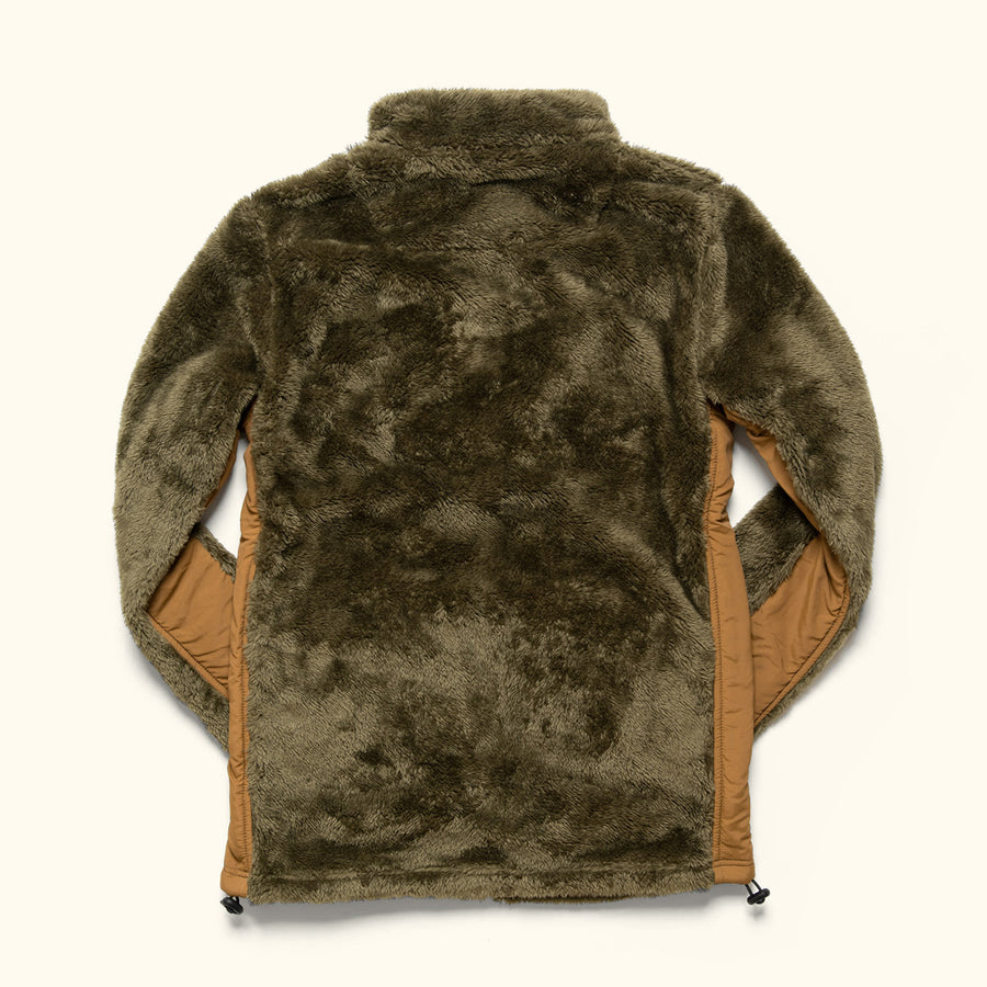 Men's Rugged Fleece Jacket Birchwood Green