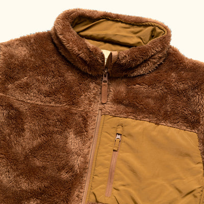 Soft Grizzly Brown Kodiak Jacket