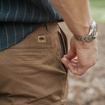 Lobo Explorer Shorts | Earth Brown