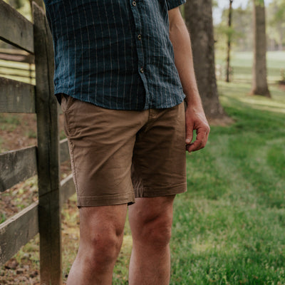 Lobo Explorer Shorts | Earth Brown hover