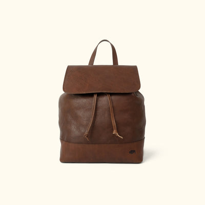 Madison Leather Backpack | Dark Hazelnut