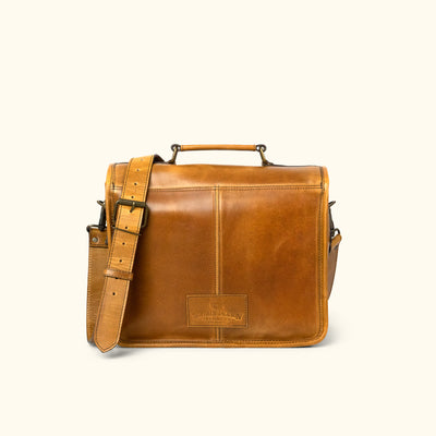 Roosevelt Buffalo Leather Camera Bag | Barley
