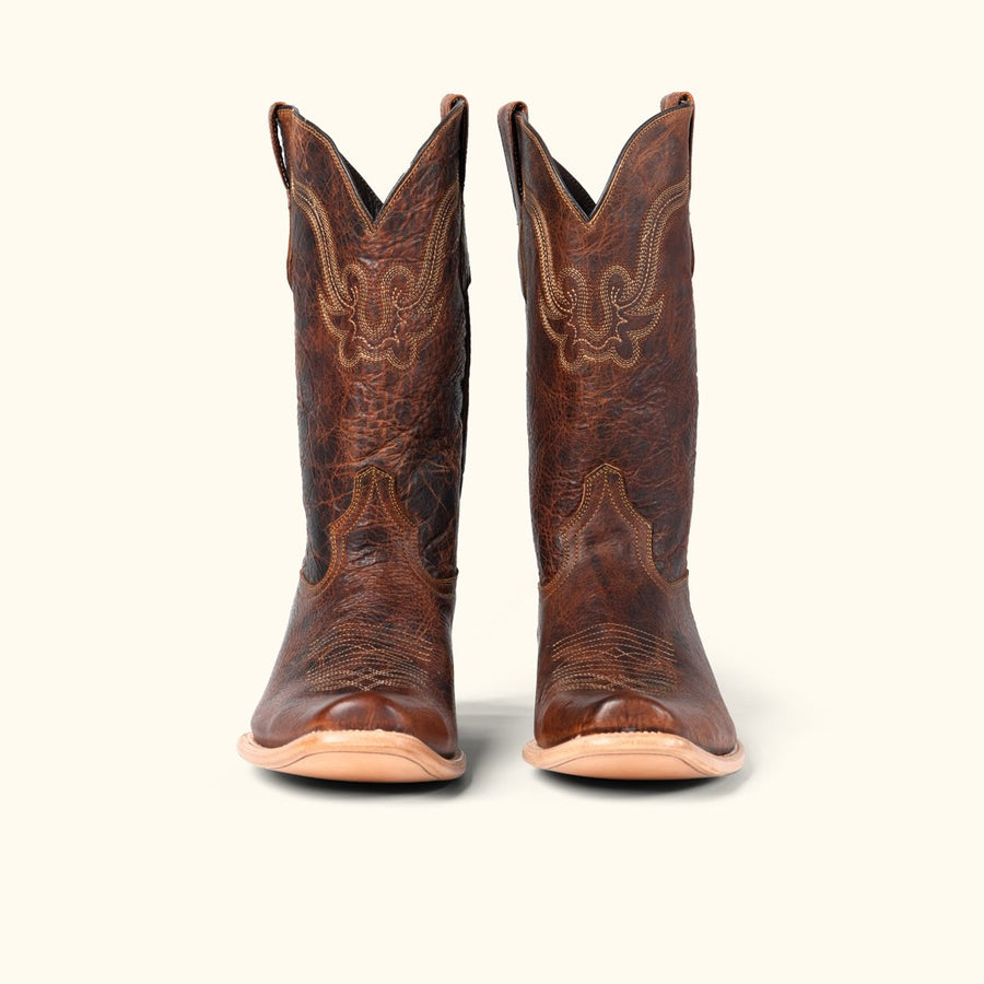 Ruidoso Men's Buffalo Western Boots | Tan