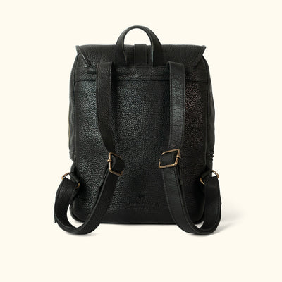 Ryder Reserve Bison Leather Backpack | Black