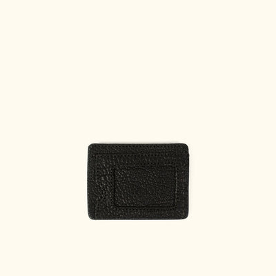 Ryder Reserve Bison Leather Slim ID Wallet | Black