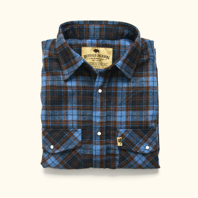 Men's Tough Wool flannel shirt