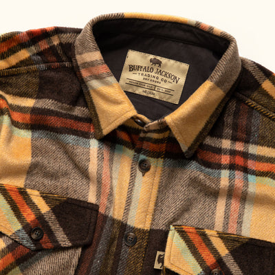 Men's Heavy Wool Shirt Jac