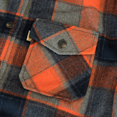 Rugged Wool outdoor shirt jac