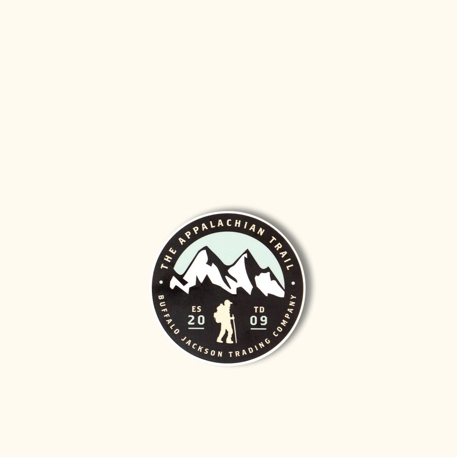 Appalachian Trail Sticker - Buffalo Jackson Trading Co