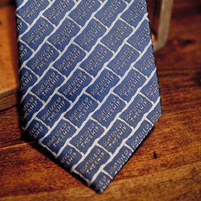 Don't Give Up the Ship | Men's Tie