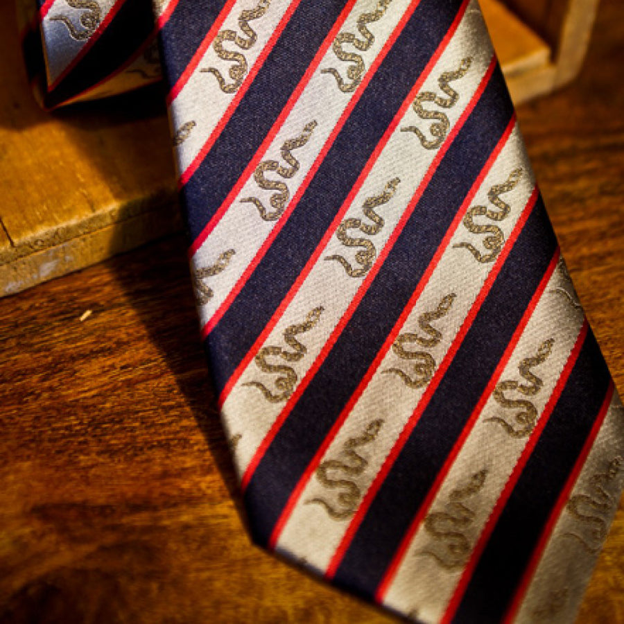 Necktie - Join Or Die - Battle Flag No. 1