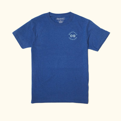 Born In The Wild Graphic Tee | Sweet Blue hover