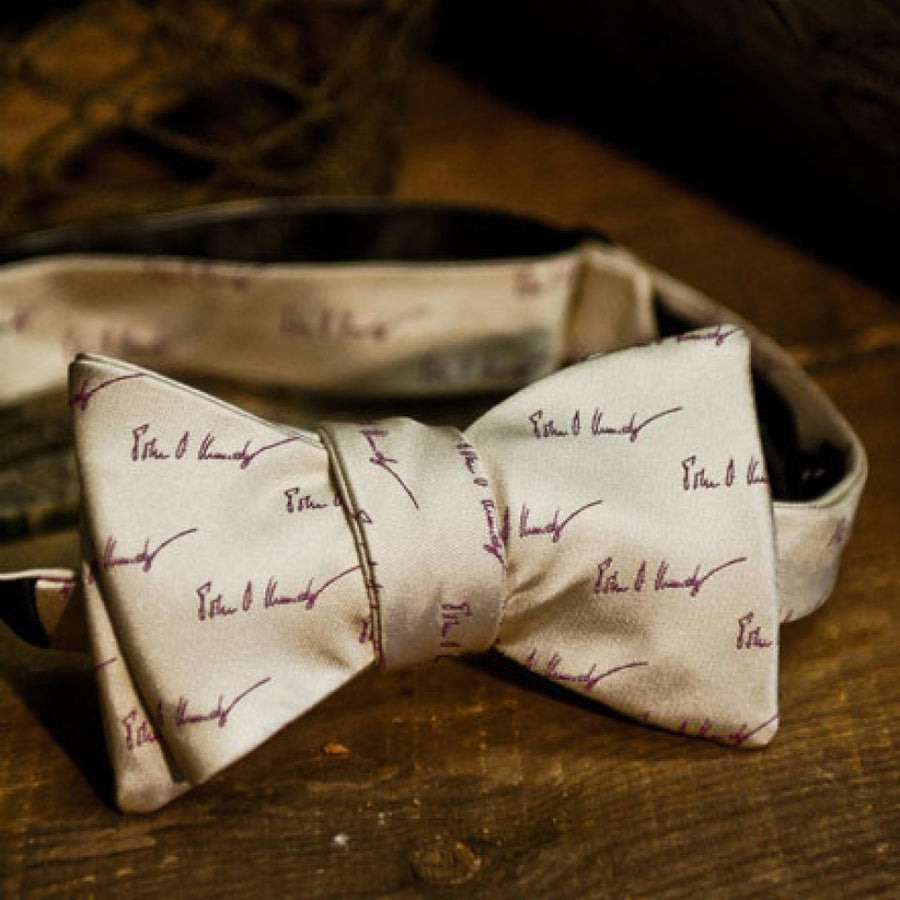 John F. Kennedy Signature Bow Tie | Cape Cod Cream