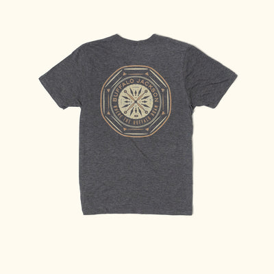 Buffalo Jackson Compass Back Graphic Tee