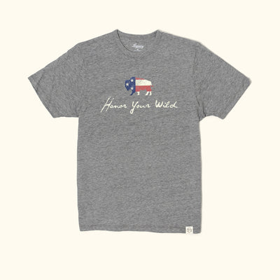 Honor Your Wild Graphic Tee | Grey