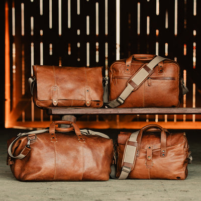 rustic leather laptop, duffles, and messenger bag buffalo jackson