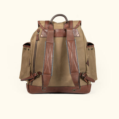 Dakota Reserve Canvas Rucksack Field Khaki