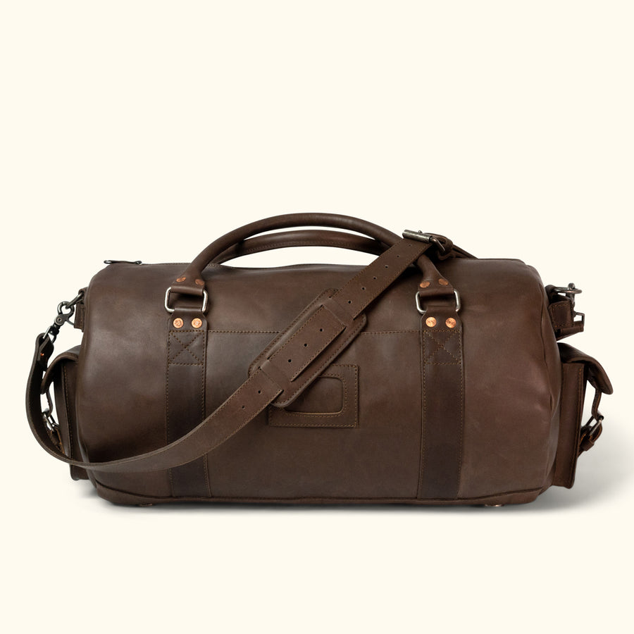 ab72a9d97c Leather Duffle Bags   Waxed Canvas Duffle Bags