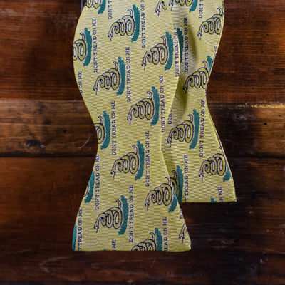 Don't Tread on Me - Bow Tie - Yellow