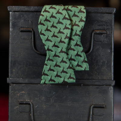 Green Duck Bow Tie