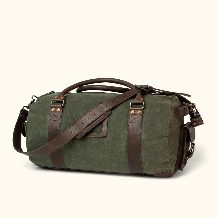 f715a183326f Leather Duffle Bags   Waxed Canvas Duffle Bags