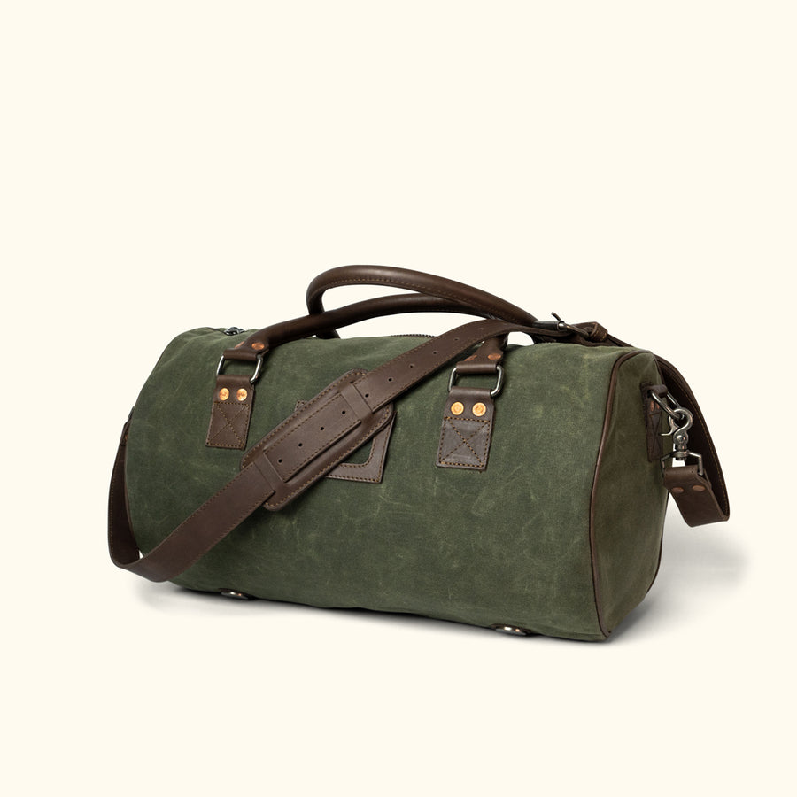 d450313bd02f Leather Duffle Bags   Waxed Canvas Duffle Bags