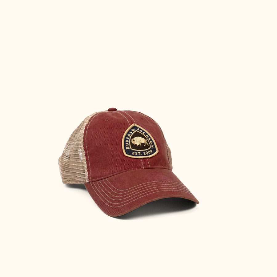 Established 2009 Trucker Hat - Red