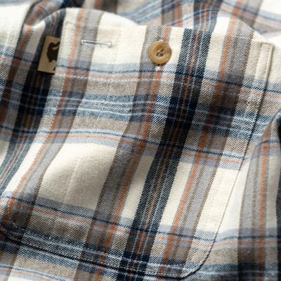Mens outdoor adventure flannel
